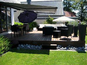 dachdecker und zimmerer innung bielefeld holzterrasse aus heimischer thermobuche. Black Bedroom Furniture Sets. Home Design Ideas