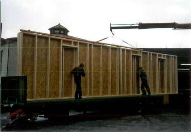 Holzrahmenbau details flachdach  Dachdecker- und Zimmerer-Innung Bielefeld: Haus in Holzrahmenbauweise