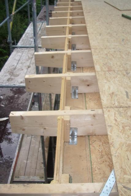 Holzrahmenbau details flachdach  Dachdecker- und Zimmerer-Innung Bielefeld: Aufstockung eines ...